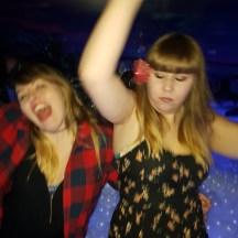 GlowMcGlow Louise and friend