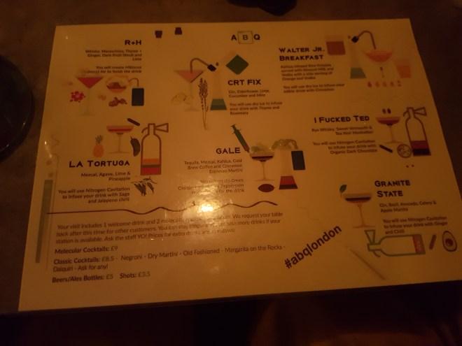 ABQ menu