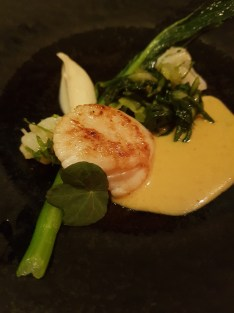 Indian Essence event scallop