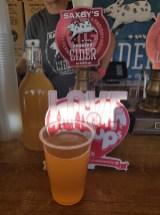 Taste of London Saxbys Beer