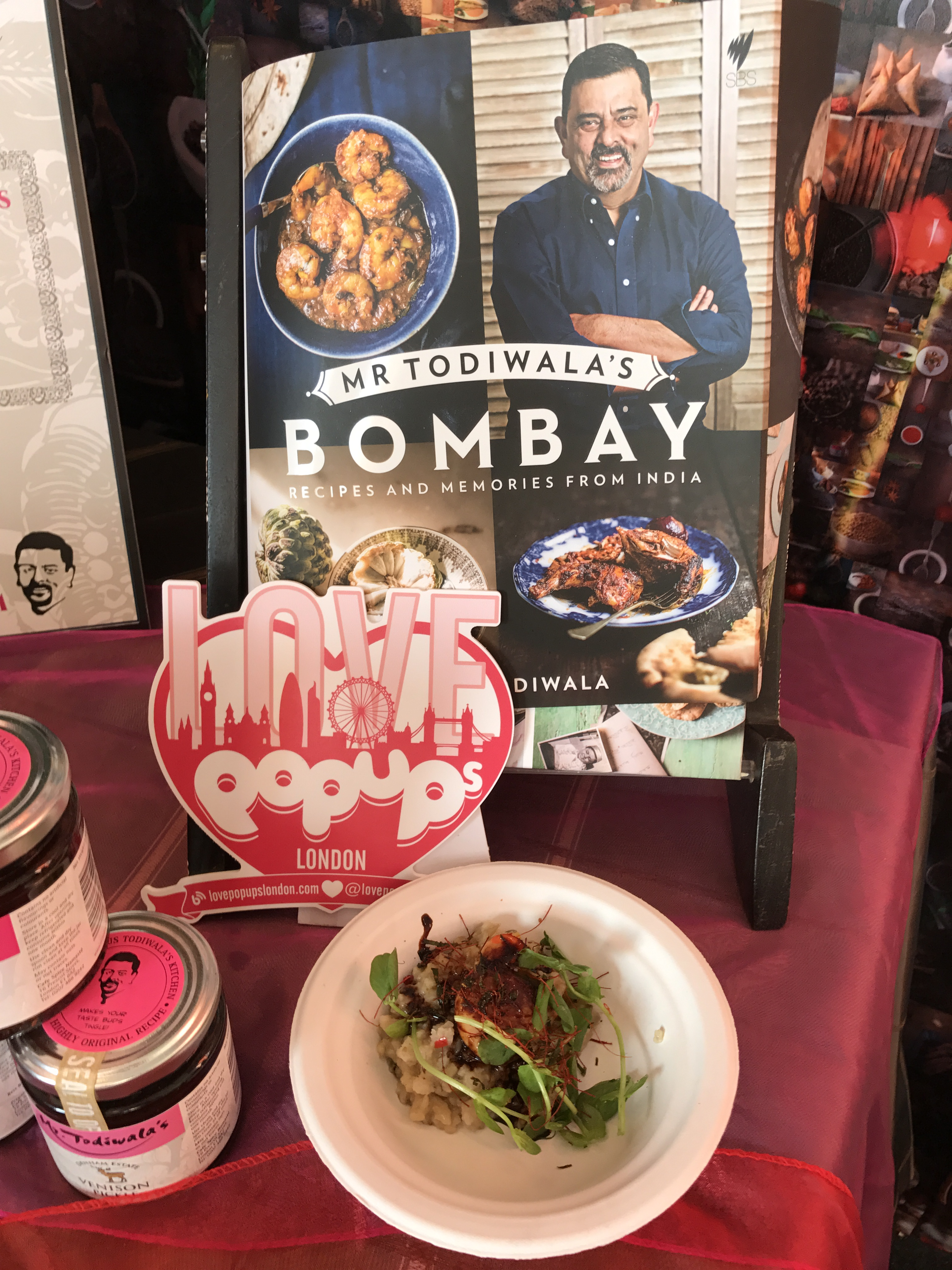 Taste of London Bombay food