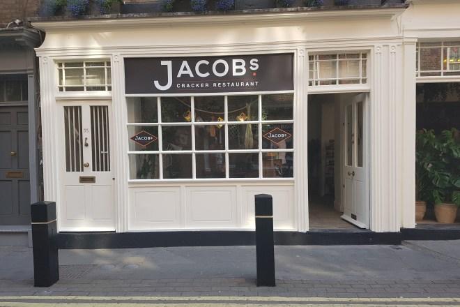 Jacobs Cracker Restaurant pop up front