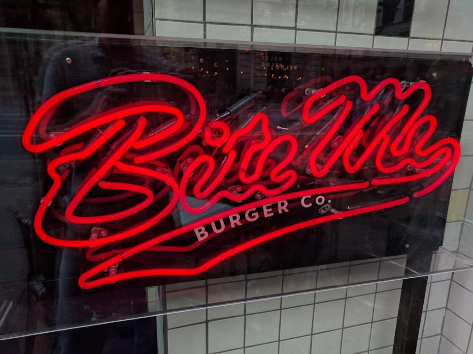 Bite Me Burger shop front