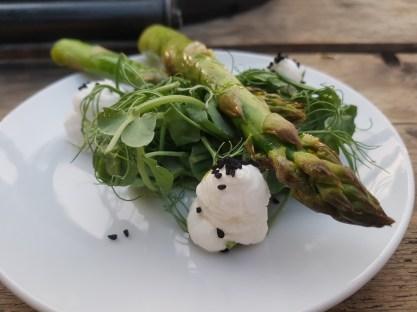 Jimmy Garcia BBQ Club asparagus