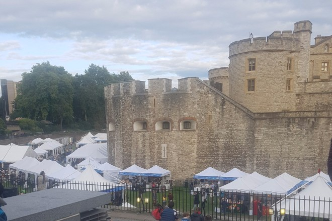 BBC Good Food Feast castle