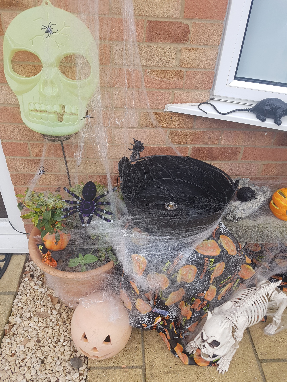 My Halloween cauldrom