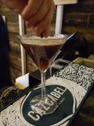 South Pole Saloon Cazcabel martini