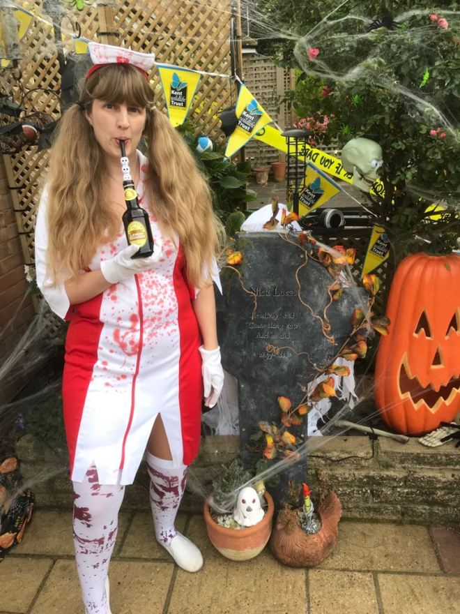 Halloween me and my Fentimans