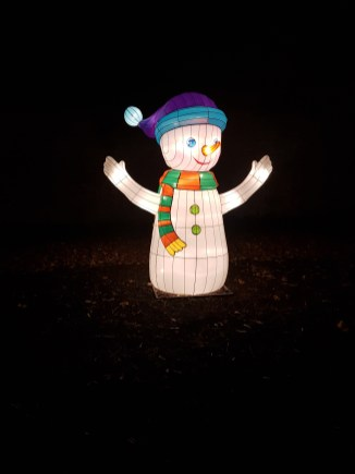 Magical Lantern snowman