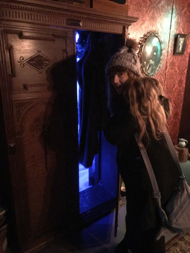 Me and the magical wardrobe