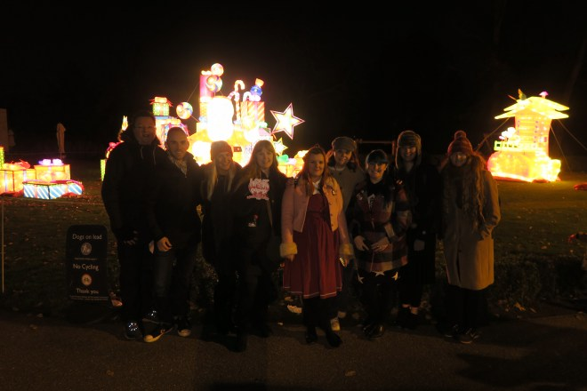 Magical Lantern me and others from Love Pop Ups London community