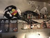Black Sheep Coffee counter