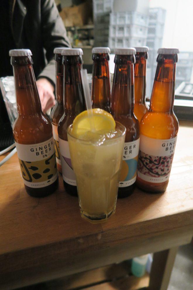 Umbrella Brewing Ginger Beer