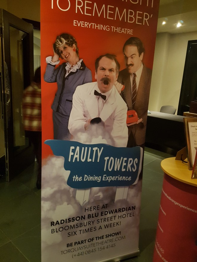 Faulty Towers poster