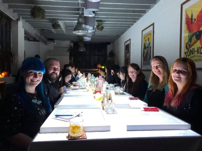 Dinner Time Story gang