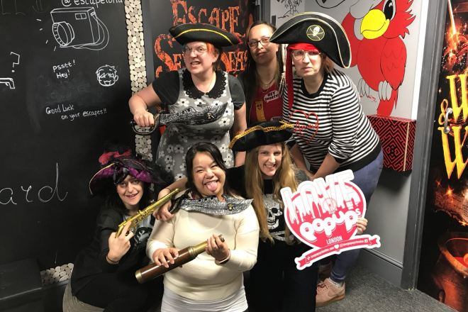 Escape London: Escape the Seven Seas