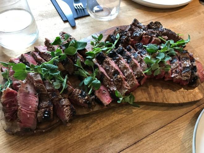 Weber Pulse steak