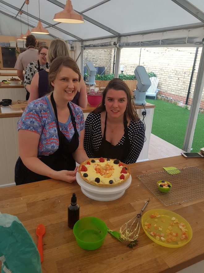 The Big London Bake Regina and me