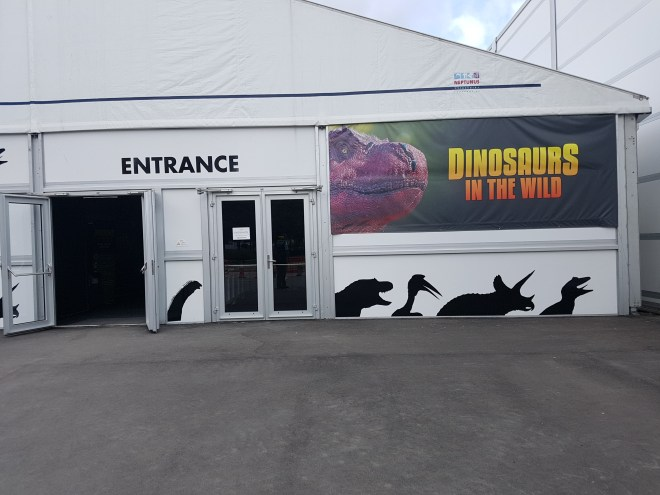 Dinos in the Wild entrance