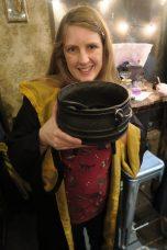 The Cauldron me and a cauldron