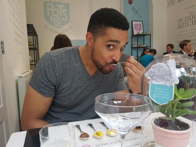 The Pudding Kitchen Pots & Co Marcus taste