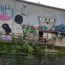 Secret Adventures graffiti