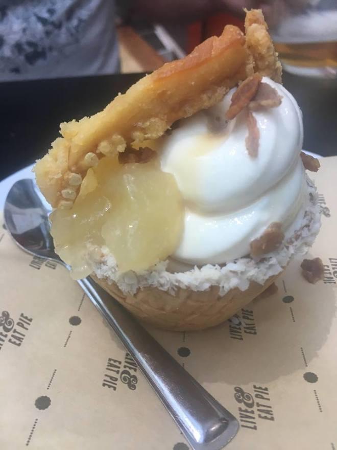 Pie Minister desserts