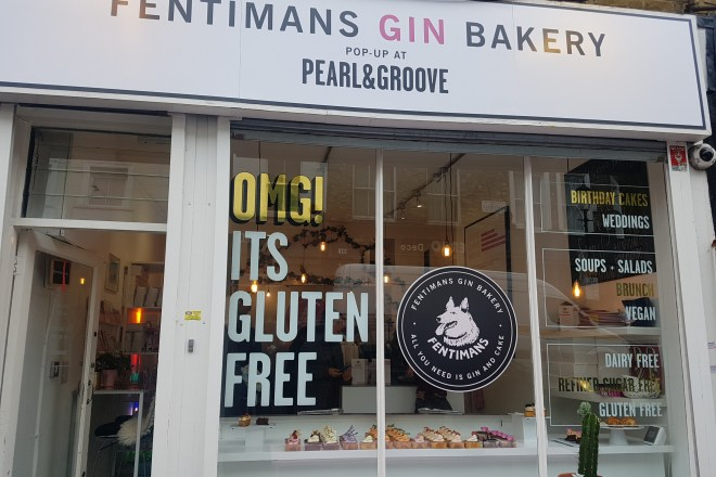 Fentimans Gin Bakery Pearl & Groove