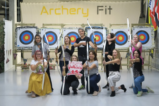 ArcheryFit us of Love Pop Ups London