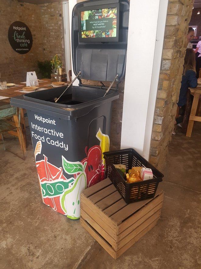 Hotpoint fresh thinking cafe bin