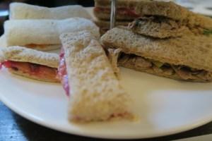Propa Tea sandwiches
