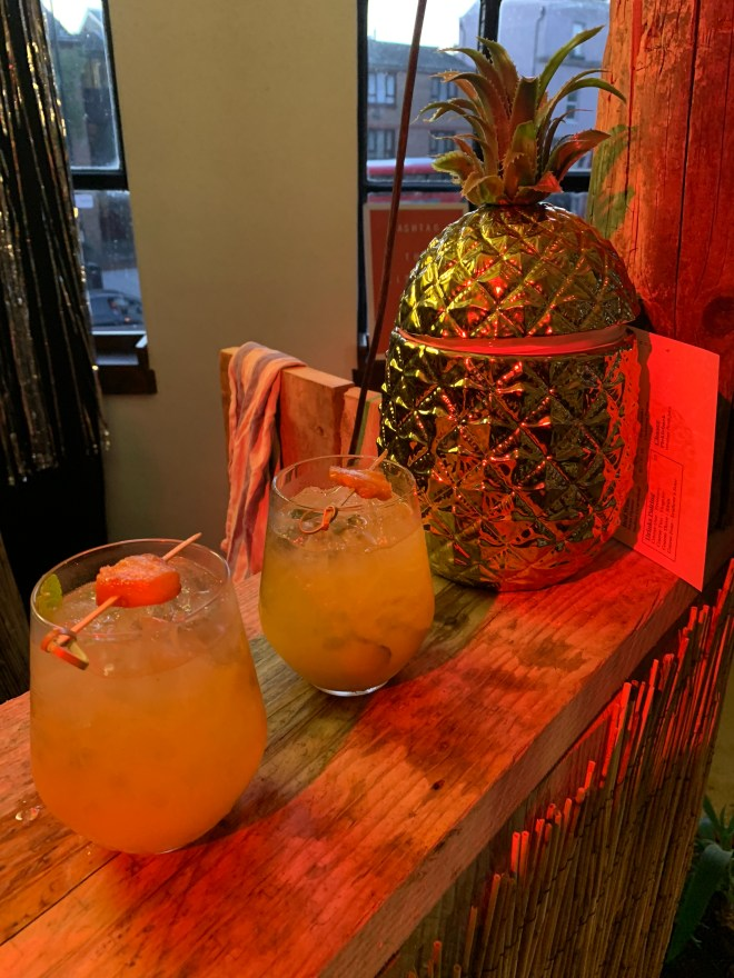 The Literary Hour Treasure Island drink