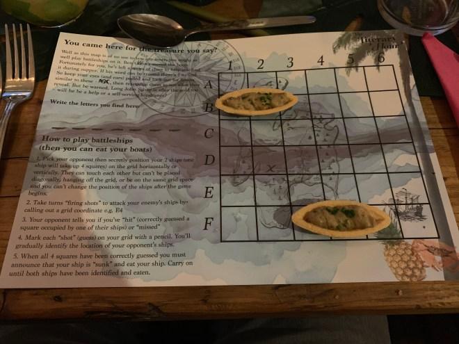 The Literary Hour Treasure Island map