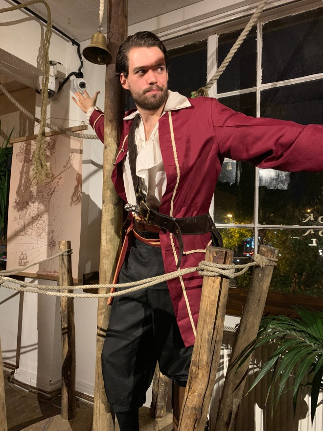 The Literary Hour Treasure Island pirate