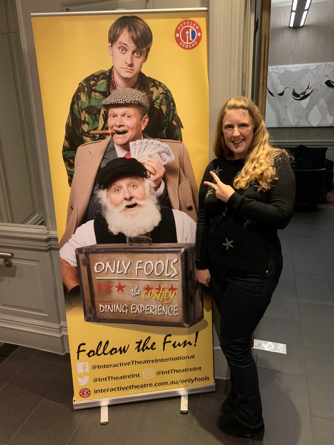 Only Fools The Cushty Dining Experience banner