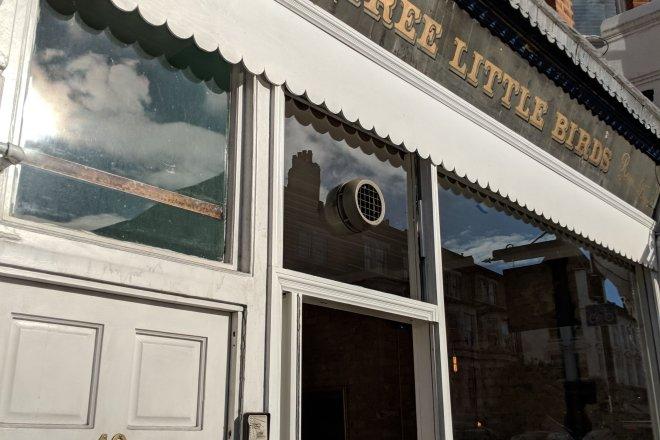 Three Little Birds restaurant Clapham