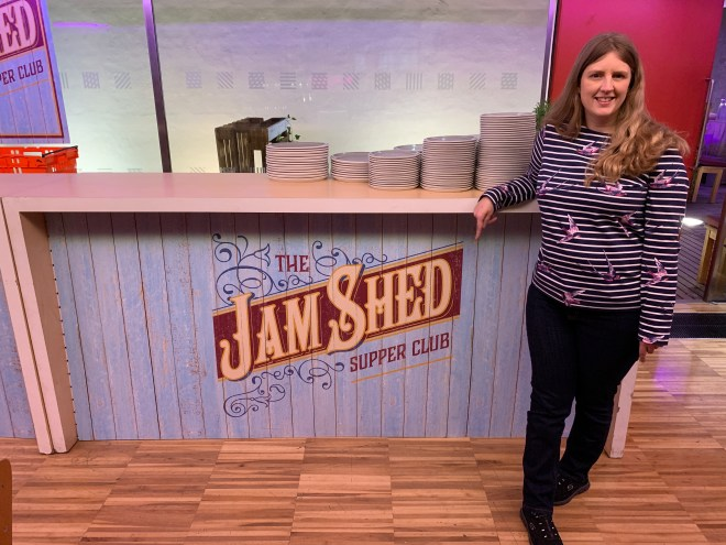 The Jam Shed Supper Club me