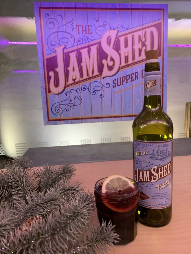 The Jam Shed Supper Club bottle