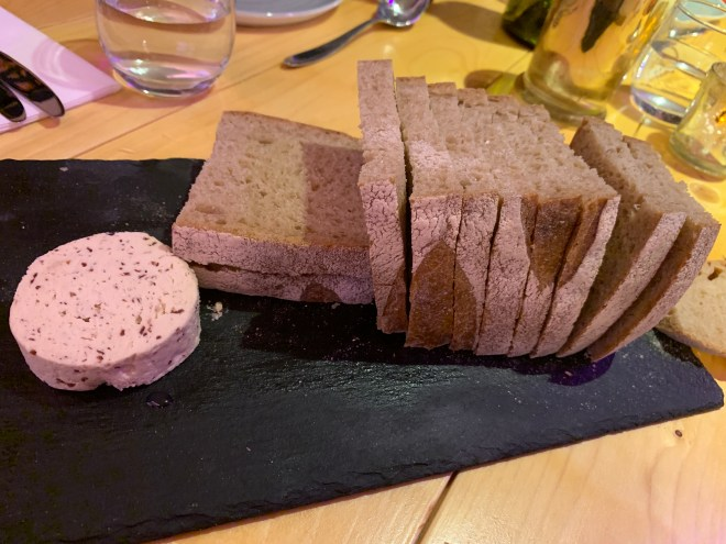 The Jam Shed Supper Club sour dough