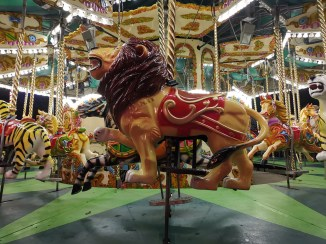 ZSL London Zoo Marshmallow carousel lion