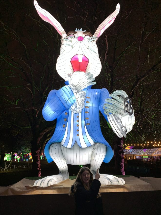 Alice in Winterland Rabbit late
