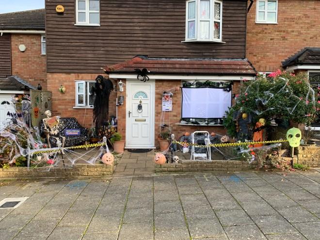 Halloween 2018 house