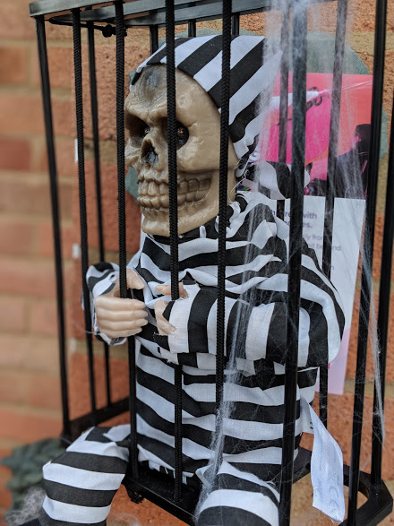 Halloween 2018 skeleton