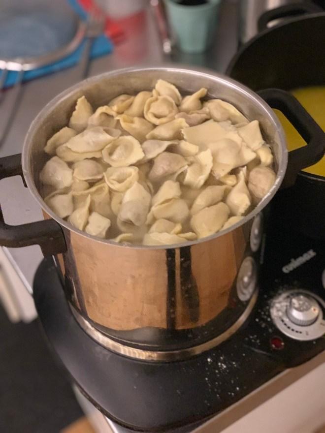 Pasta n Play cooking