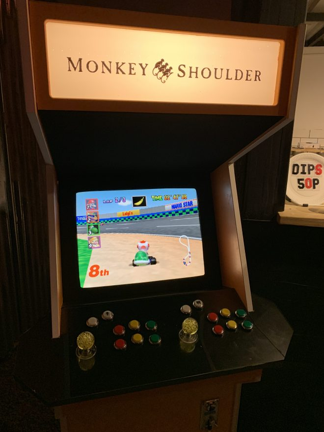 TimeOut Hotboozapalooza arcade