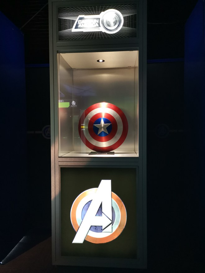 Avengers Station Captain America shield