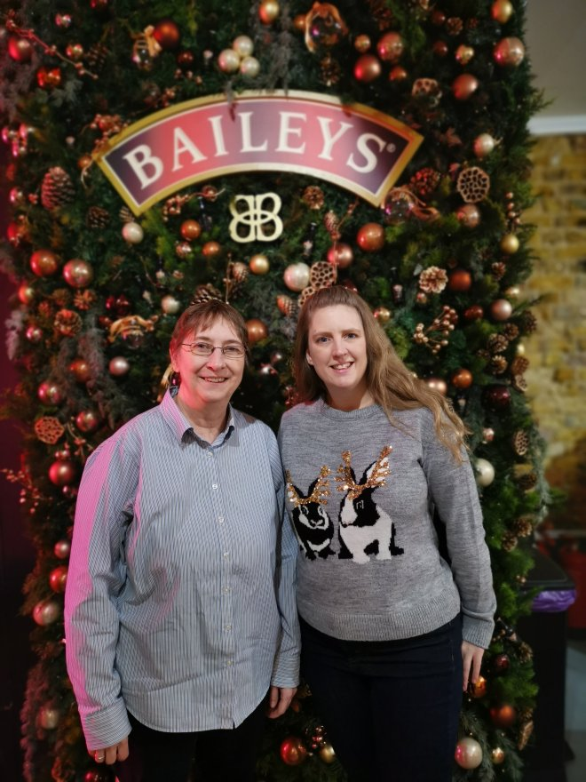 Baileys Treat Bar Jane and me