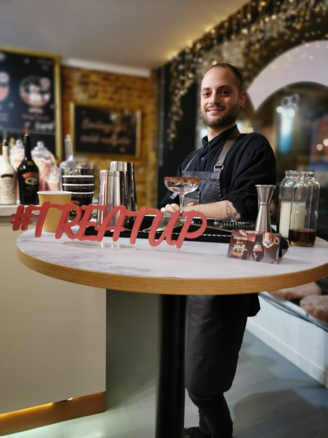 Baileys Treat Bar masterclass mixologist ready