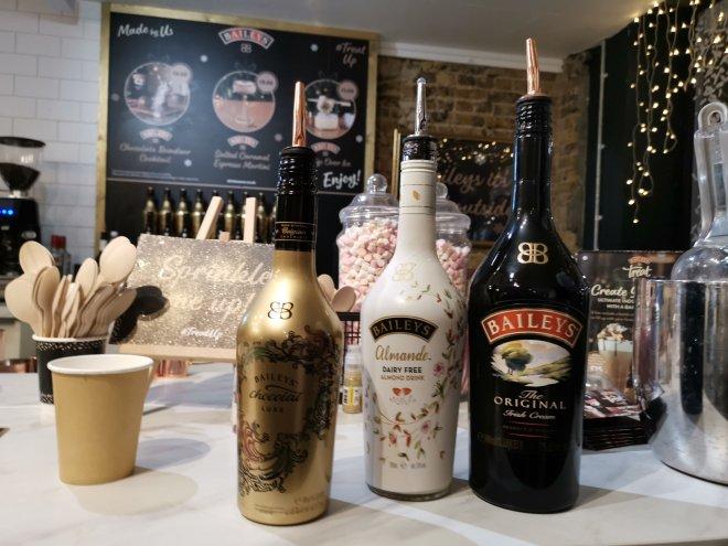 Baileys Treat Bar drinks