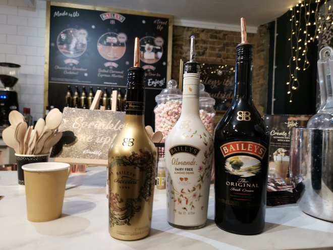 Baileys Treat Bar drinks